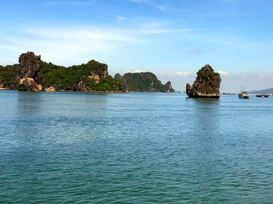 Vietnam Ha Long Bucht Intensiv1