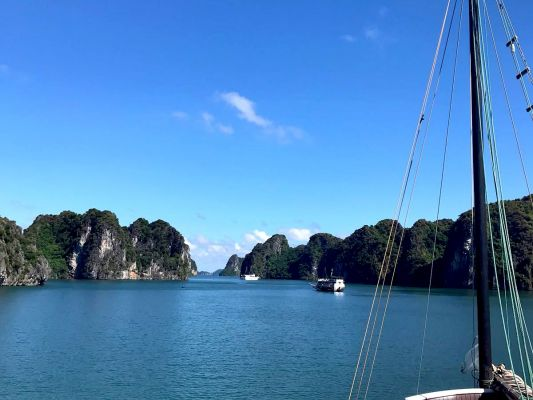 Vietnam Ha Long Bucht Intensiv2
