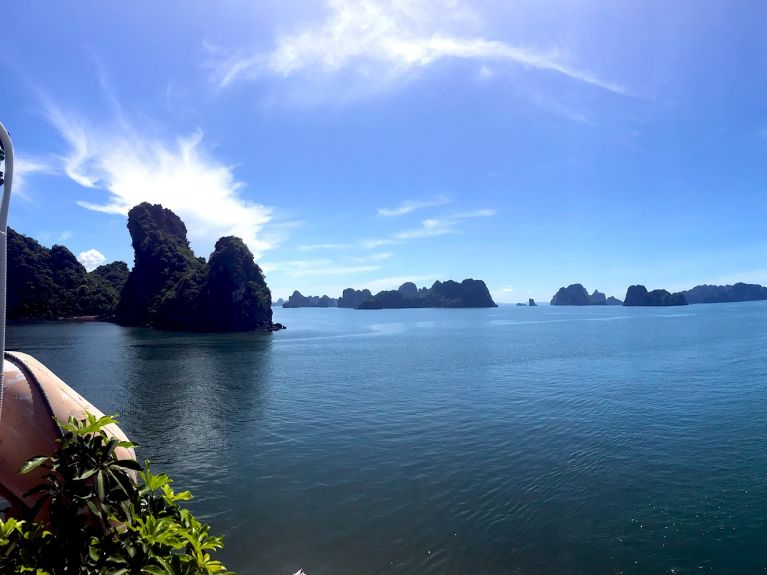 Vietnam Ha Long Bucht Panorama