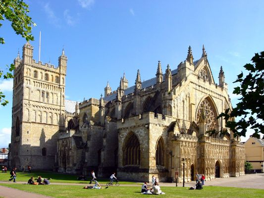 England_Exteter_Kathedrale