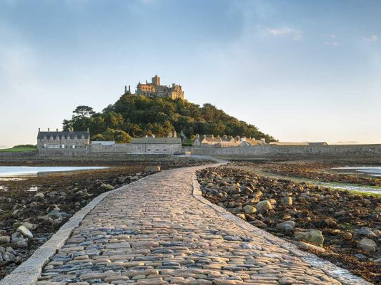 Gb Cornwall St Michaels Mount