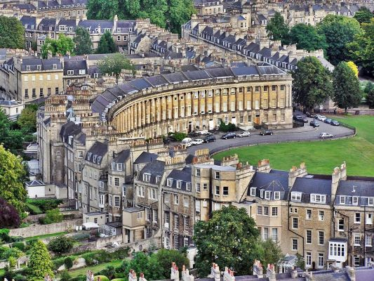 Gb Bath Royal Crescent
