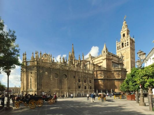 Sevilla Cathedral  Andalusien