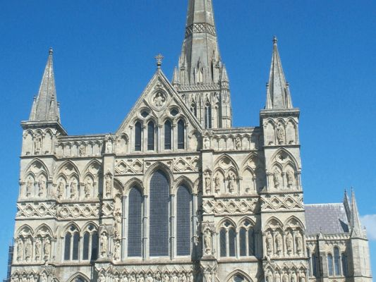 England Salisbury Cathedral Of Saint Mary